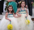 Flowergirls with Yellow Daisies